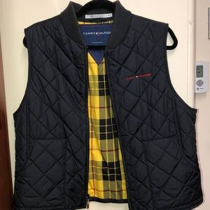 Tommy Hilfiger black puffer vest